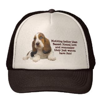 Basset Hound Fabulous Face Hat