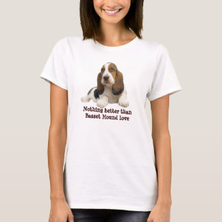 Basset Hound Fabulous Face Ladies Shirt