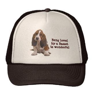 Basset Hound Face Hat