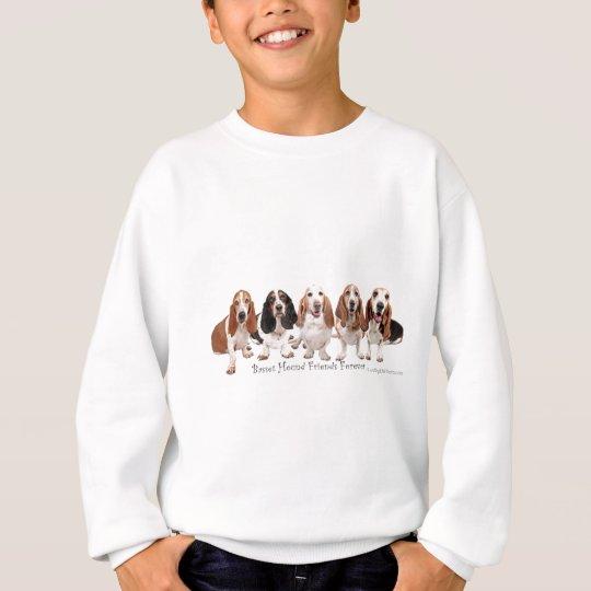 Basset Hound Friends Forever Sweatshirt