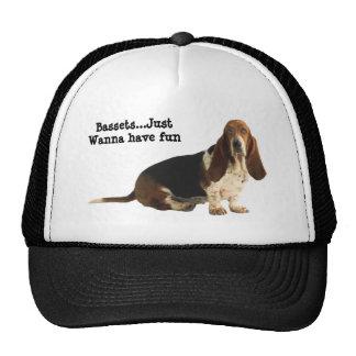 Basset Hound Fun Loving Hat
