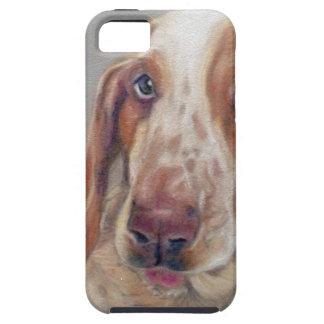Basset hound iPhone 5 case