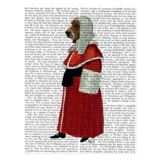 Basset Hound Judge Full Postcard