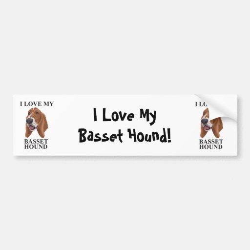 Basset Hound love