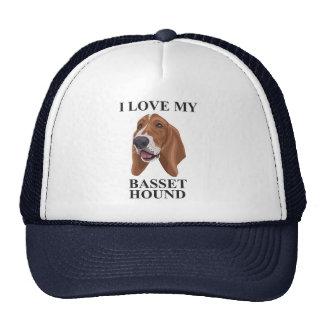 Basset Hound love Cap