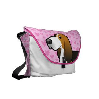 Basset Hound Love Commuter Bag