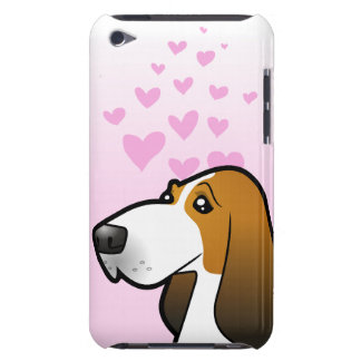 Basset Hound Love iPod Case-Mate Case