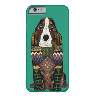 Basset Hound love jade Barely There iPhone 6 Case