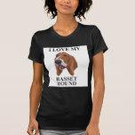 BASSET HOUND Love T-shirts