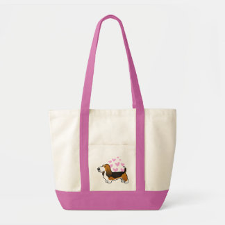 Basset Hound Love Tote Bag