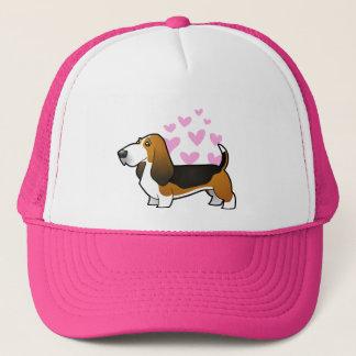 Basset Hound Love Trucker Hat