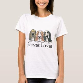 Basset Hound Lover Signature T-Shirt