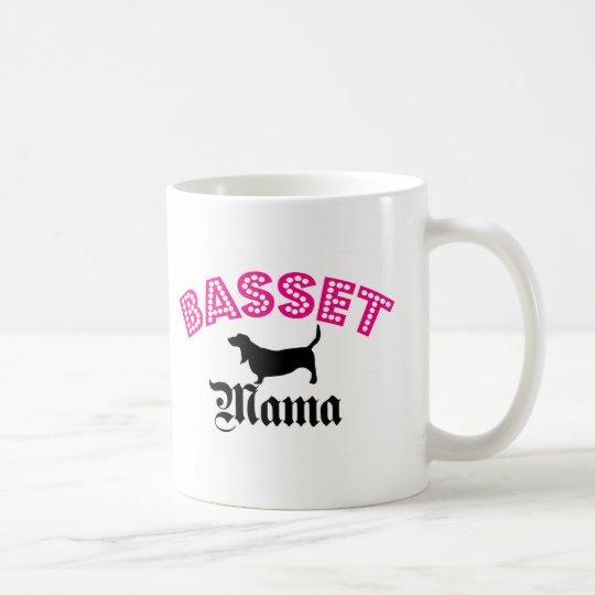 Basset Hound Mama Coffee Mug