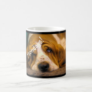 Basset Hound Monday Mug