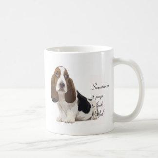 Basset Hound Coffee Mugs