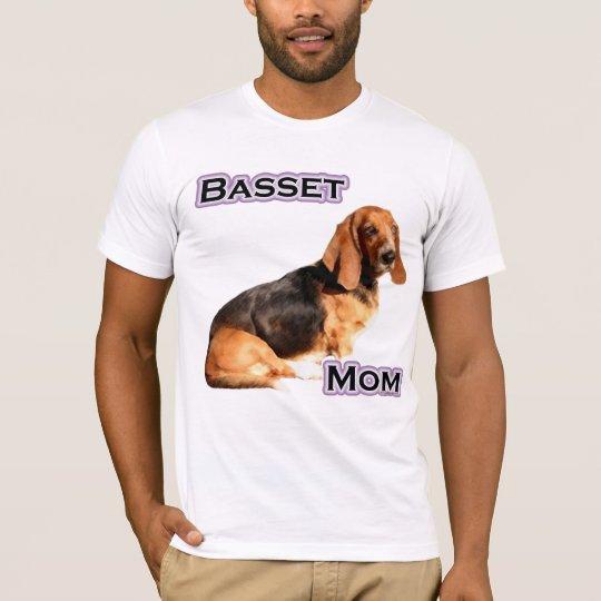 Basset Hound Mum 4 T-Shirt