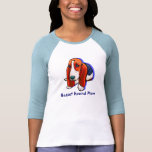Basset Hound Mum Shirt