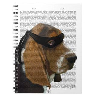 Basset Hound Ninja Notebooks