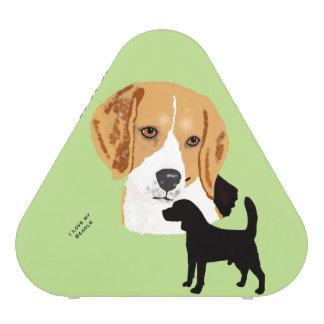 Basset Hound on green