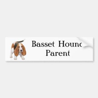 Basset Hound Parent Bumper Sticker