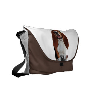 Basset Hound Picture Messenger Bag