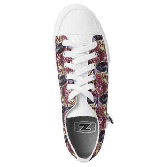 Basset hound print shoes