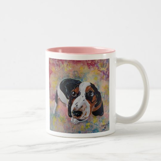 Basset Hound Puppy Original Art for Dog Lovers