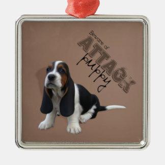 Basset Hound Puppy Ornament