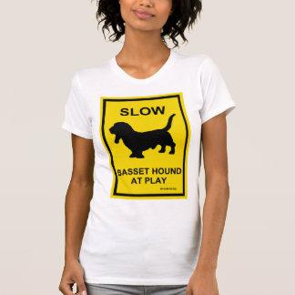 Basset Hound Slow At Play T-Shirt