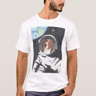 Basset Hound Space Walk T-Shirt