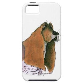 Basset Hound, tony fernandes iPhone 5 Case