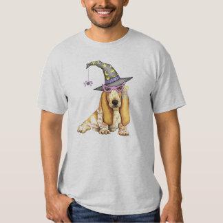 Basset Hound Witch T-shirts
