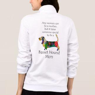 Basset Mom Fleece Jacket