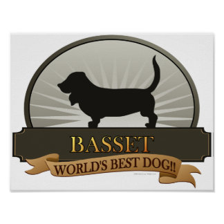 Basset Posters