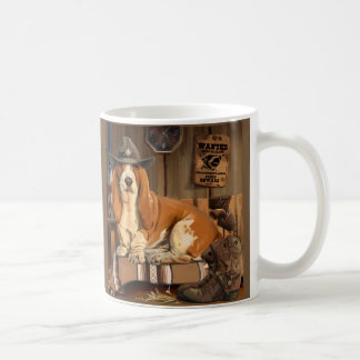 Basset-Sheriff Coffee Mug