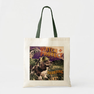 Basset watch dogs Tote bag