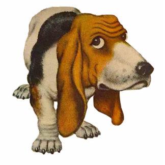 BASSETT GUARD DOG CUT OUT