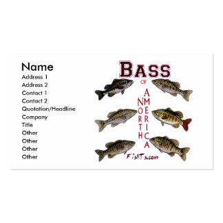 BassFisherman Card Business Cards
