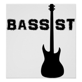 Bassist Print