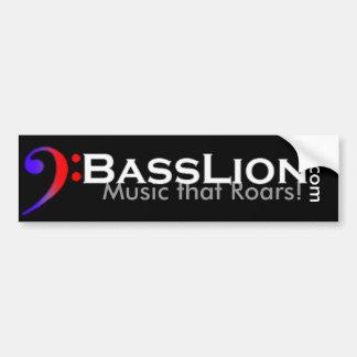 BassLion Bumper Sticker