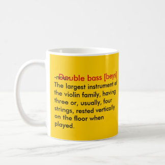 basslove basic white mug