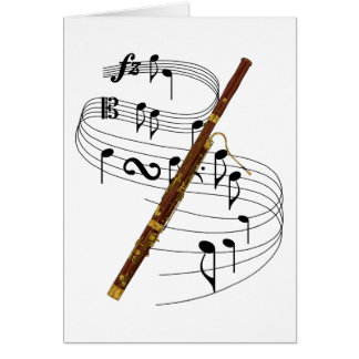 Bassoon Greeting Cards