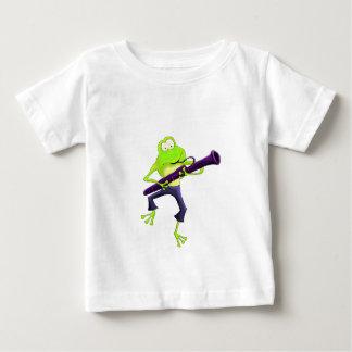Bassoon Frog Baby T-Shirt