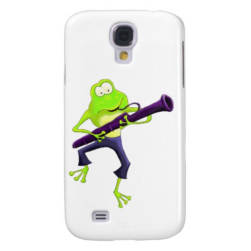 Bassoon Frog Samsung Galaxy S4 Cover