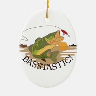 Basstastic! Christmas Ornament