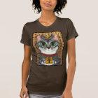 Bast Goddess Egyptian Bastet Cat Art T-Shirt