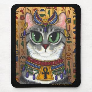 Bast Goddess, Egyptian Bastet Cat Mousepad