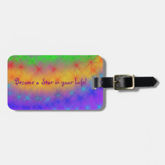 BAStar! Luggage Tag w/ Leather Strap