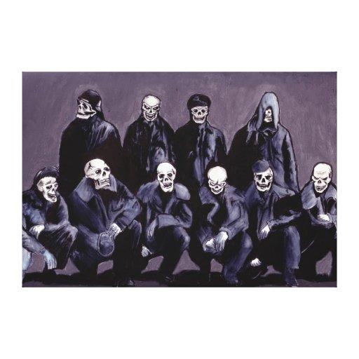 Bastard Sons of Satan Canvas Print