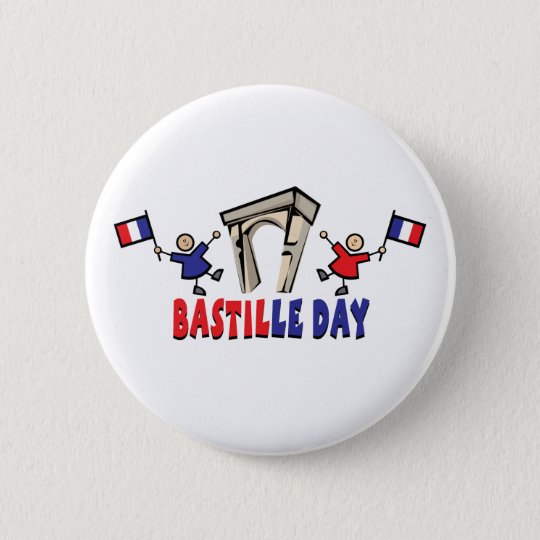 Bastille Day! 6 Cm Round Badge